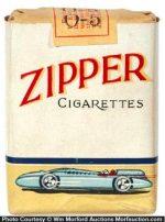 Zipper Cigarette Pack
