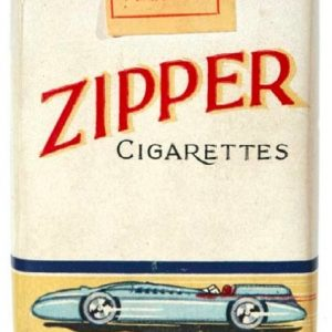 Zipper Cigarette Pack