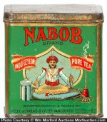 Nabob Tea Tin