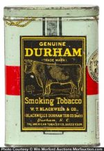 Durham Tobacco Pocket Tin
