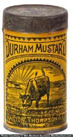 Durham Mustard Spice Tin