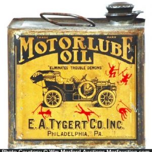 Motorlube Oil Can