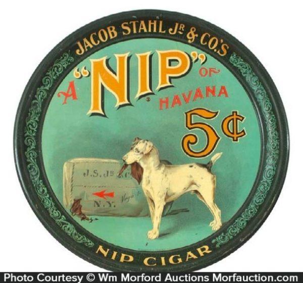 Nip Cigar Tray