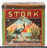 Stork Tobacco Tin