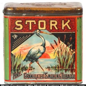 Stork Tobacco Tin