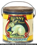 Bunny Brand Coffee Pail