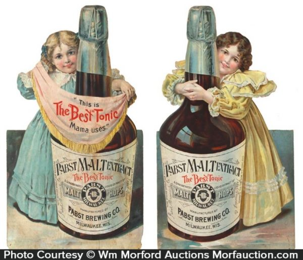 Pabst Malt Extract Tonic Signs