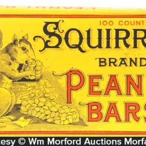 Squirrel Peanut Bars Box