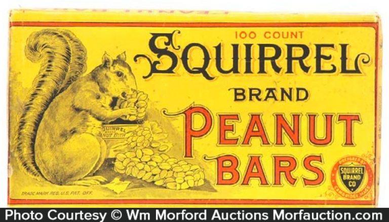 Squirrel Peanut Bars Box