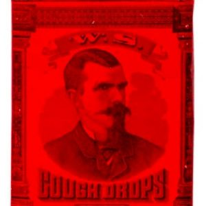 W. S. Cough Drops Tin