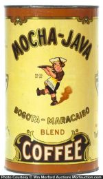 Mocha-Java Bogota-Maracaibo Coffee Tin