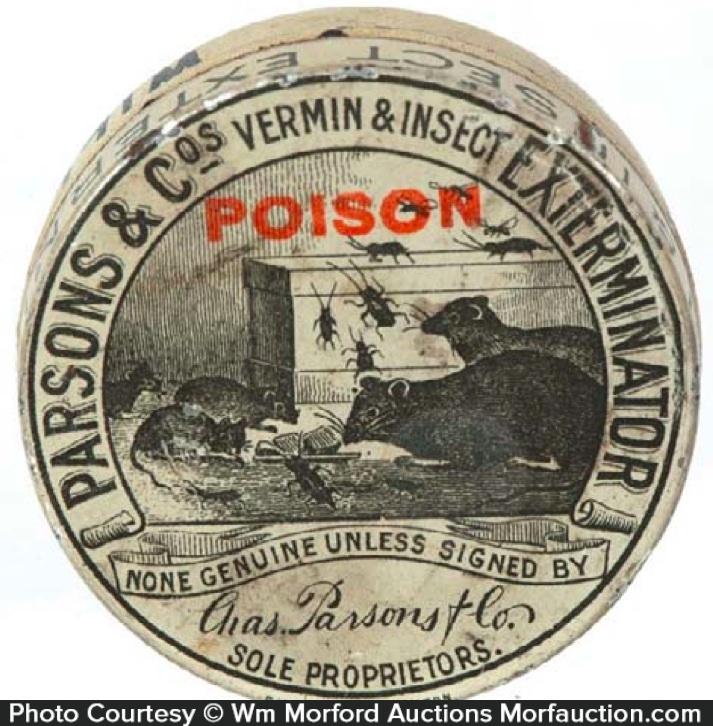 Parsons Exterminator Tin