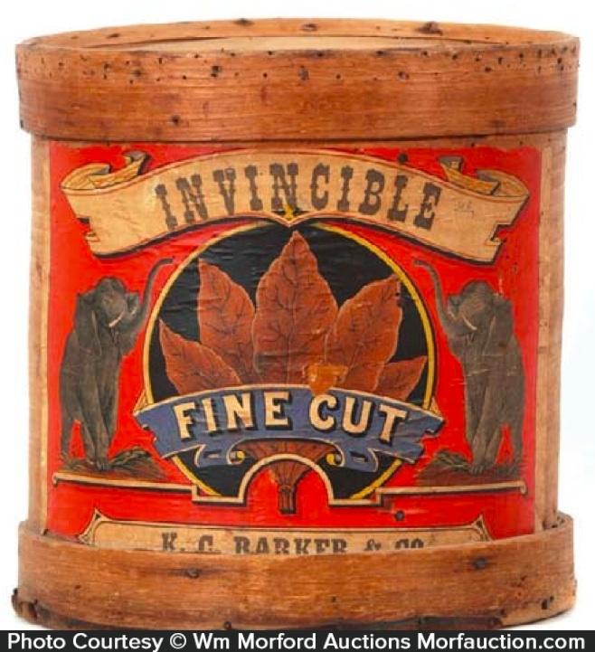 Invincible Tobacco Barrel
