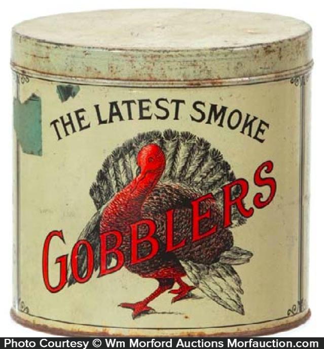Gobblers Cigar Tin