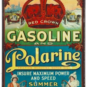 Standard Oil Red Crown and Polarine Sign