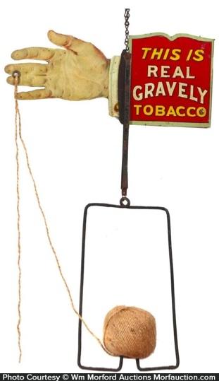 Gravely Tobacco String Holder