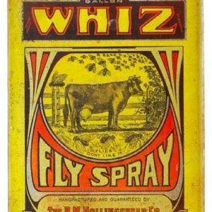 Whiz Fly Spray Tin