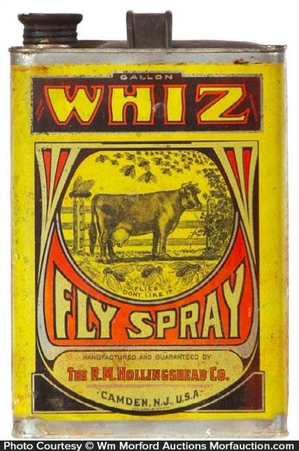 Whiz Fly Spray Tin