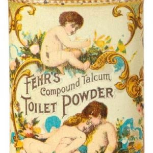 Fehr's Toilet Powder Tin