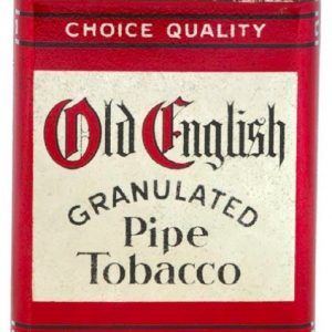 Old English Pipe Tobacco Tin