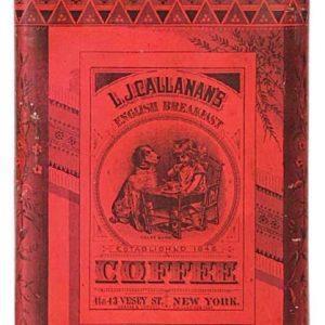 Calllanan's Coffee Tin