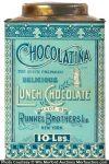 Chocolatina Lunch Chocolate Tin
