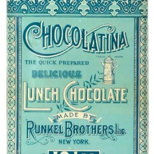 Chocolatina Lunch Chocolate Tin