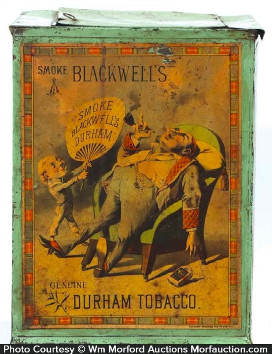 Blackwell's Durham Tobacco Bin