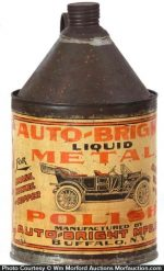Auto-Bright Metal Polish Tin