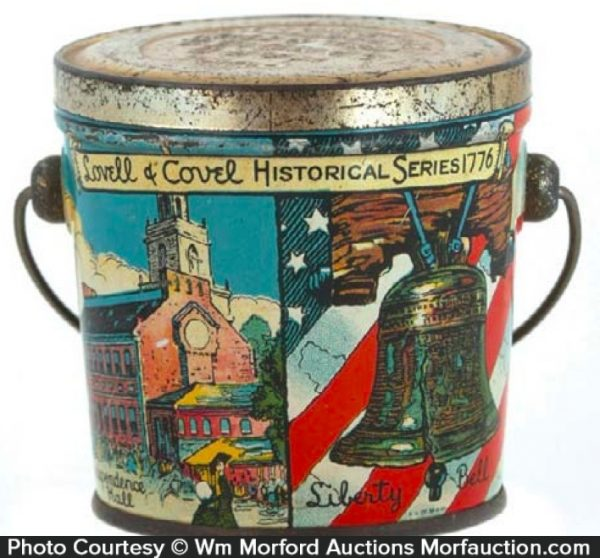 1776 Historical Series Candy Pail