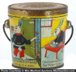 Peter Cottontail Candy Pail