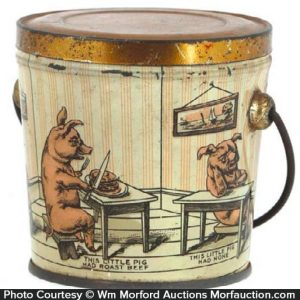 Little Pigs Candy Pail