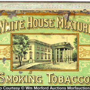 White House Mixture Tobacco Tin