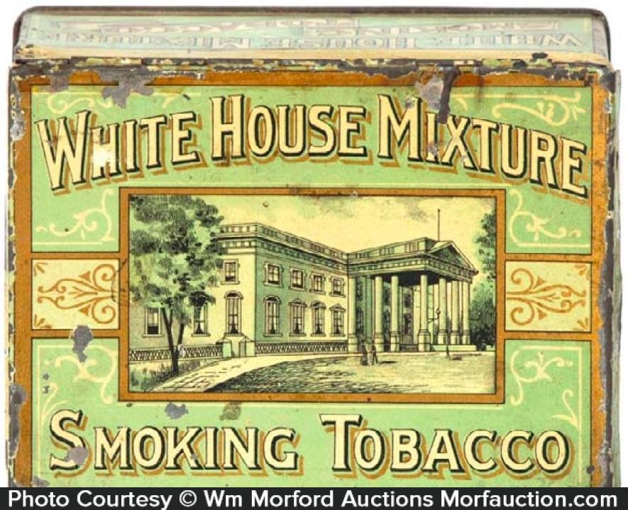 White House Mixture Tobacco Tin