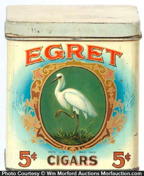Egret Cigar Tin