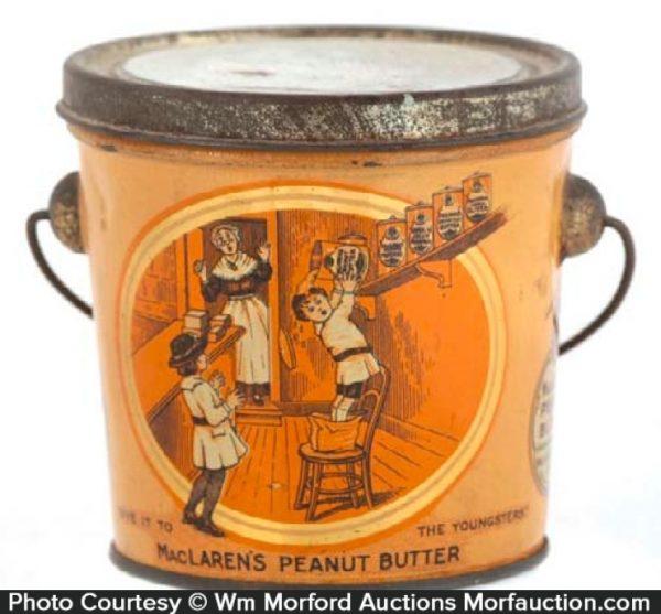 Maclaren's Peanut Butter Pail