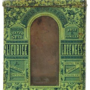 Warner Licorice Lozenges Tin