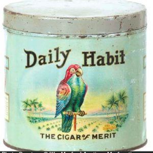 Daily Habit Cigar Can
