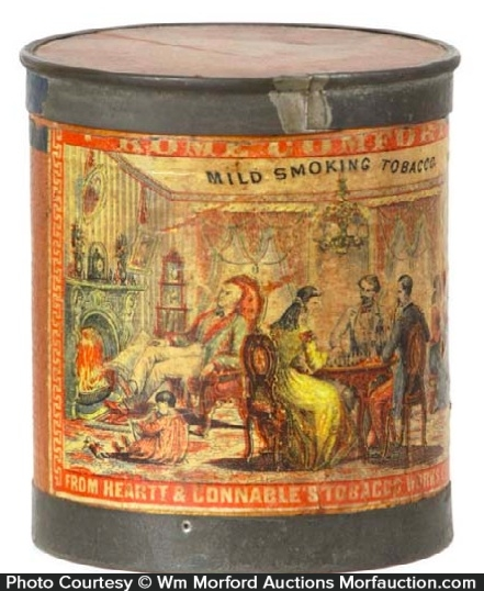 Home Comfort Tobacco Tin