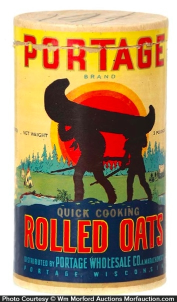 Portage Oats Box
