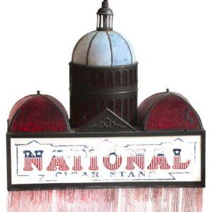National Cigar Stand Light Fixture