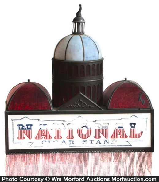 National Cigar Stand Light Fixture