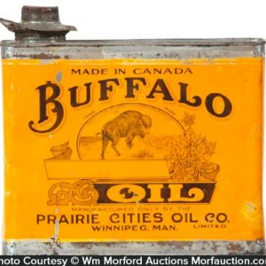 Buffalo Oil Can