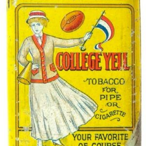 College Yell Tobacco Tin