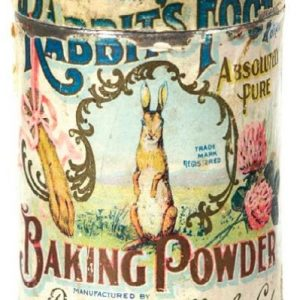 Rabbit's Foot Baking Powder Tin