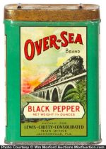 Over-Sea Spice Tin