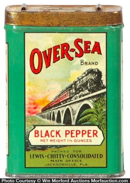 Over-Sea Spice Tin
