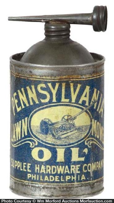 Pennsylvania Lawn Mower Oil Can
