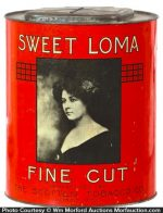 Sweet Loma Tobacco Tin