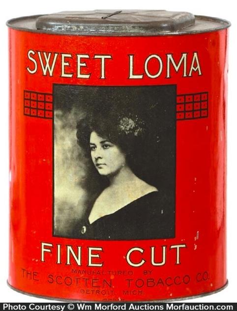 Sweet Loma Tobacco Tin